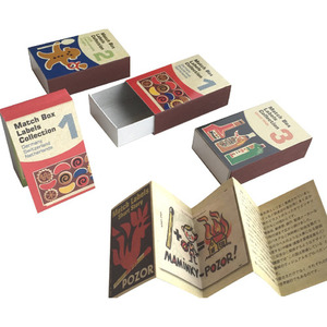 Match Box Labels Collection